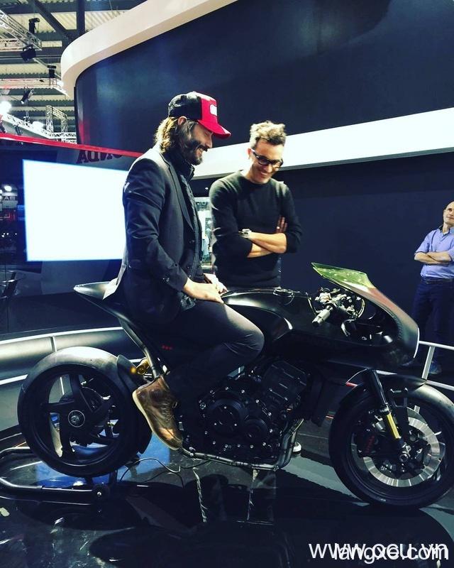 Chiêm ngưỡng vẻ đẹp của Honda CB4 Interceptor - xe café racer đến từ tương lai - Ảnh 13.